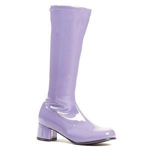 Púrpura Z De Ellie Zapatos Mujer Botas Niño Medio B