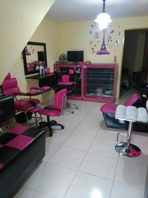 Venta silla peluqueria y silla pedicure posot class for Sillas para manicure