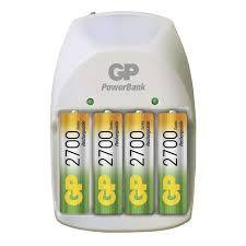 Cargador de pilas Power GP