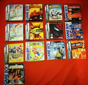 Juegos Game Boy Caja