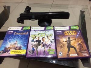 Kinet para Xbox 360 con Juegos