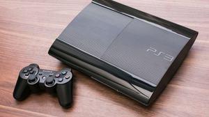 PS3 SLIM PERFECTO ESTADO DISCO DURO 120 GB 1 CONTROL JUEGOS