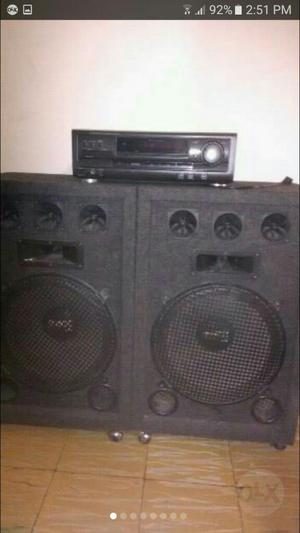 Sonido Amplificador Cabinas