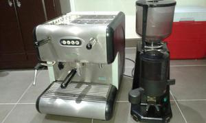 Maquina Espresso Y Molino Marca San Marco Italiana.