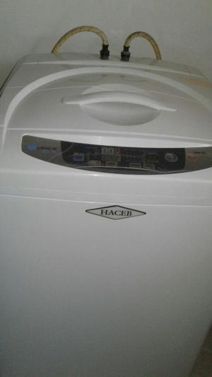 lavadora haceb 25 lbs blanca