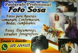 Ofresco Mis Servicios Fotograficos