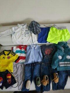 oferta gran lote ropa bebe obsequio cargador bebe