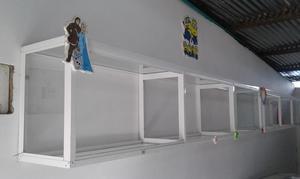 CABINAS PARA CAFÉ INTERNET y modulo divisorio en vidrio