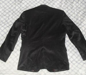 Chaqueta tipo blazer color negro EN PANA TALLA S y M