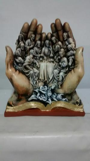 Figura Religiosa para Mesa en Yeso