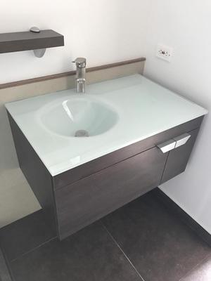 mueble lavamanos de colgar moderno homecenter posot class