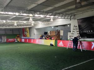 Menaje. Cancha Futbol 5