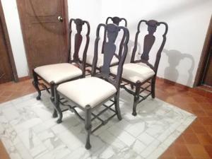 Juego de comedor mesa y cuatro sillas en posot class for Comedor cuatro sillas