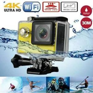Cámara tipo GoPro, Ultra HD 4K, Nueva