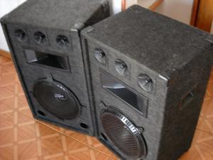 GANGA 2 cabinas pasivas de sonido profesional, parlante