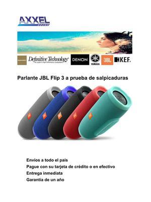 Jbl Flip 3 Parlante Bluetooth