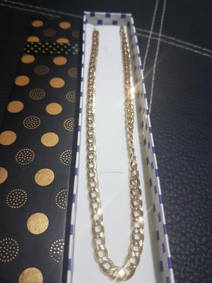 Cadena de Oro Italiano 18k Nueva Gran Oferta