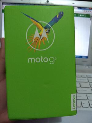Moto G5 Dorado 32 Gb Doble Sim