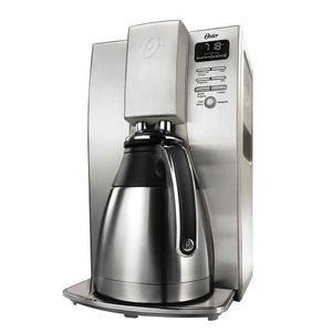 Cafetera Térmica Programable De 10 Tazas Oster® Plateada,