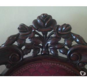 Juego de Sala Luis XV original,1 grande y 2 sillas, y 2 mesa
