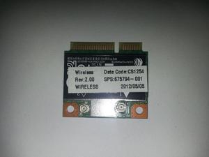 Tarjeta Wifi Portátil Compaq Presario CQLA
