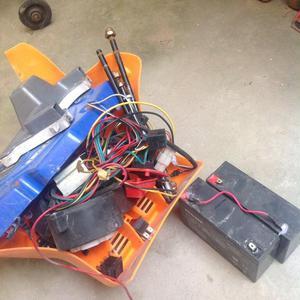 Vendo baterías para carritos eléctricos.