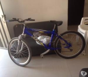bicicleta todo terreno GW aluminio original $500