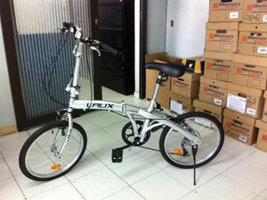 cambio bicicleta laux plegable por celular