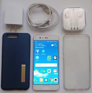 Huawei P10 Gold Perfecto Accesorios 32gb 4 Ram Doble Cámara