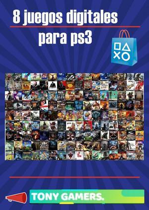 8 juegos para ps3 originales garantizados por solo