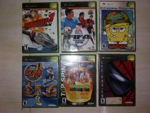 Coleccion De Juegos Para Xbox Clasico Posot Class