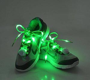 Cordones De Zapato De Los Cordones De Nylon Flammi Led Se I