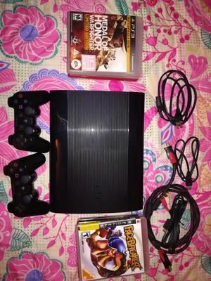 Oferta Ps3 Super Slim 9 Juegos 2 Control