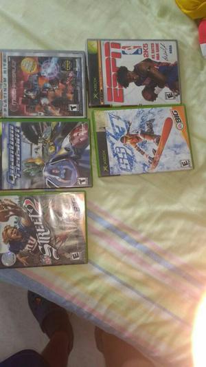 Vendo Juegos para Xbox Clásico