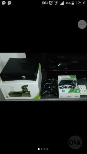 Xbox 360 Slim 250 Gb 3.0 Como Nuevo