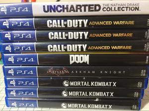 Juegos Ps4 Nuevos desde  Mortal Kombat X Doom Call Of