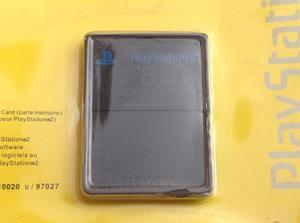 Memory Card 8mb Play Station 2 Negro