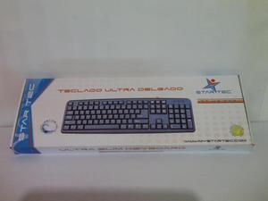 Teclado Star Tec USB Color Negro Nuevo