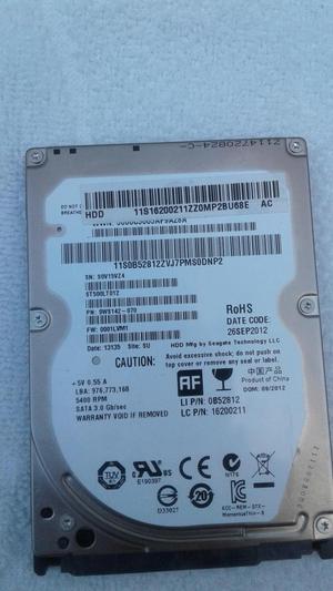 vendo disco duro para portátil de 500 GB en perfecto estado