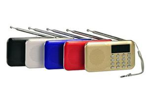 Ejiasu Mini Digital Usb Fm Portable Audio Radio !