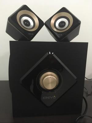 Parlantes Bluetooth Kinivo M2 Stereo 2.1