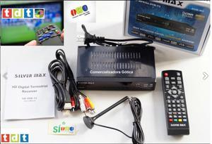 TDT SILVER MAX Full HD p con PVR para grabar programas