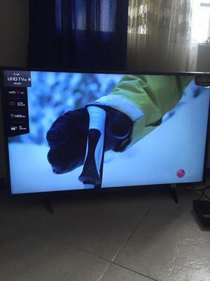 tv 4k ULTRA HD LG 49 smart tv
