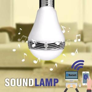 Bombillo Luz Led + Altavoz Parlante Bluetooth - Soundlamp