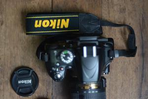 Camara Nikon D Lente  VR II