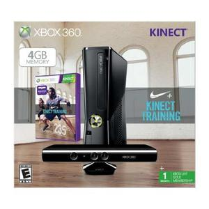 Consola Xbox 360 De 4gb Con Kinect Negro