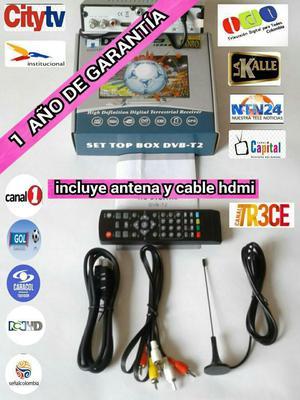 Decodificadores Tdt T2 Incluye Antena