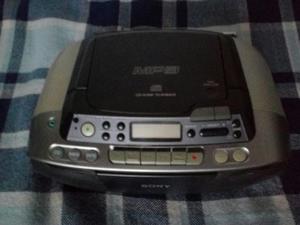 Grabadora Sony Cd Mp3 Y Casette Perfecta