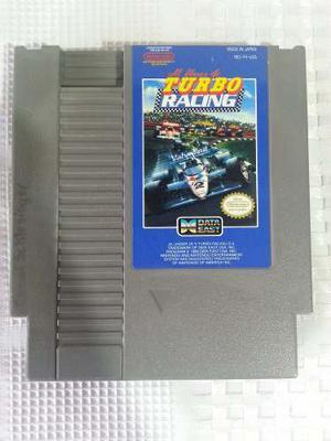 Juego Nes Nintendo Turbo Racing Original Excelente Estado