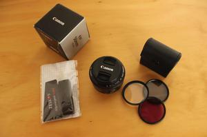 Lente Canon 50 Mm 1.8 Filtros
